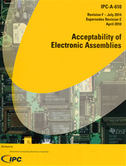 IPC A-610F: Acceptability of Electronic Assemblies