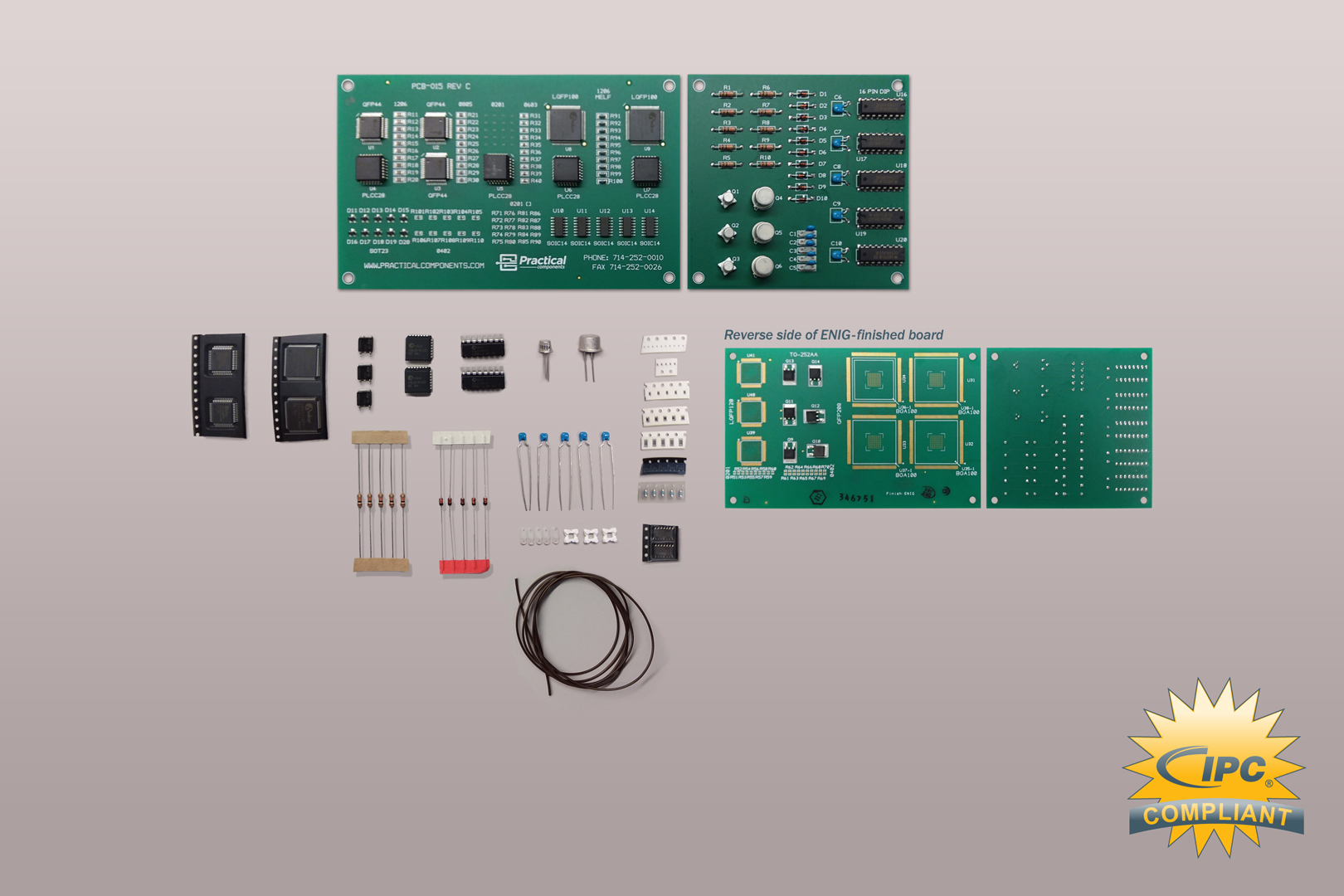 IPC 7711/7721 - CIS/CIT - Recertification Solder Training Kit (ENIG)