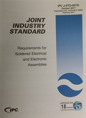 IPC J-STD-001G: Requirement for Soldered Electrical and Electronic Assemblies